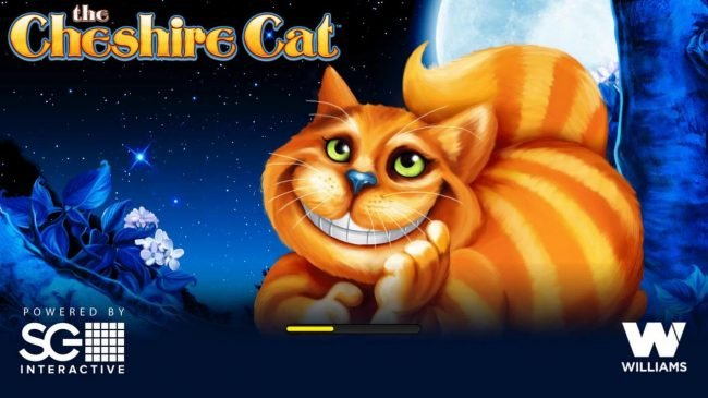 Secret Slots featuring the Video Slots The Cheshire Cat with a maximum payout of $250,000