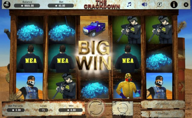 The Crackdown :: Big Win