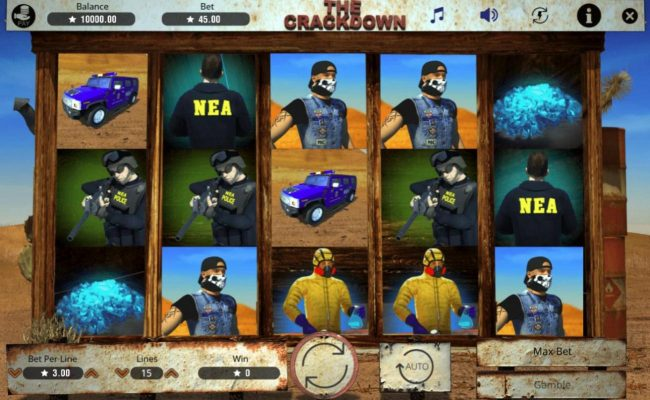 The Crackdown :: Main Game Board