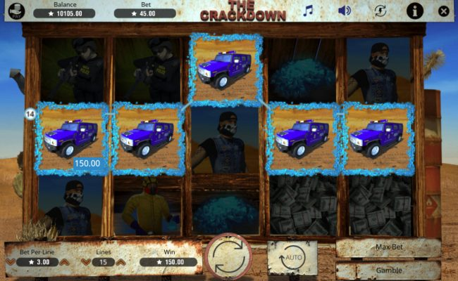 The Crackdown :: A winning five of a kind