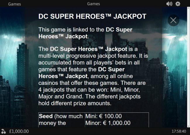 Jackpot Rules