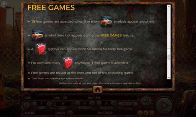 The Dead Escape :: Free Games Rules