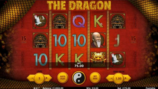 The Dragon :: Main Game Board