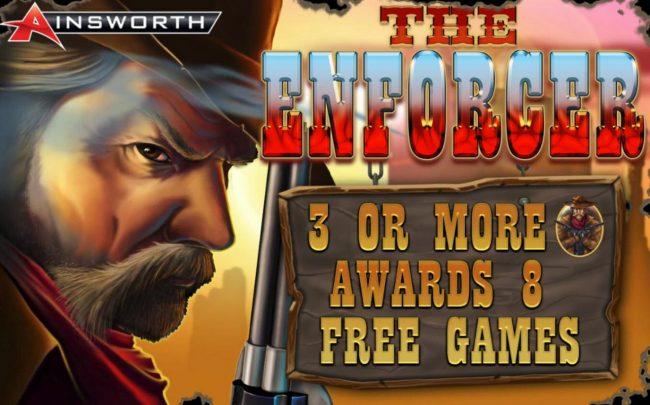 The Enforcer :: Splash screen - game loading