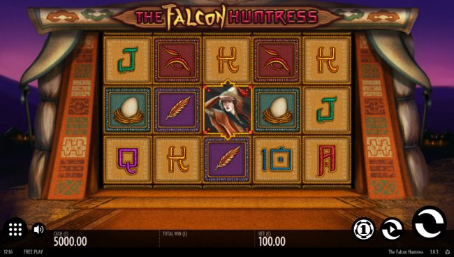 Play slots at Leo Vegas: Leo Vegas featuring the Video Slots The Falcon Huntress with a maximum payout of $112,000