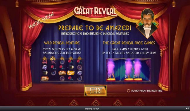 Play slots at Crown Europe: Crown Europe featuring the Video Slots The Great Reveal with a maximum payout of $100,000
