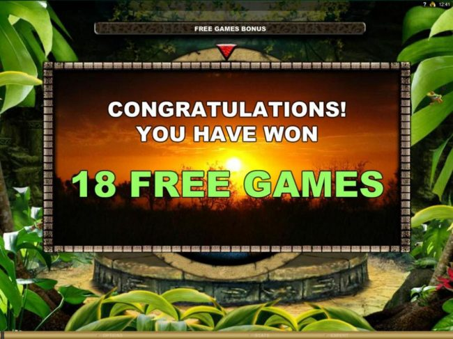 PropaWin featuring the Video Slots The Jungle II with a maximum payout of $50,000