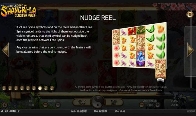 Shadowbet featuring the Video Slots The Legend of Shangri-La with a maximum payout of $200,000
