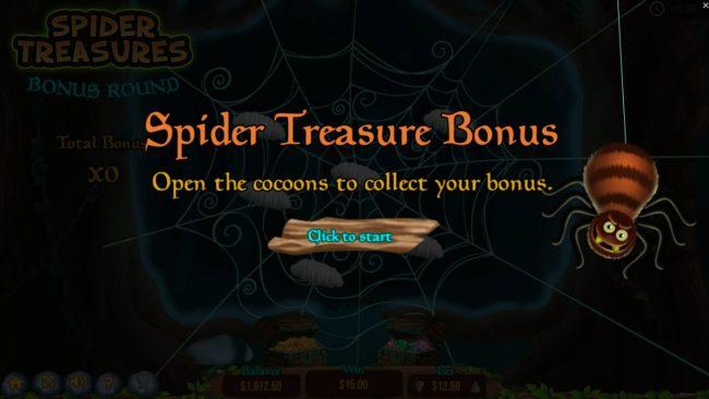 Spider Treasure Bonus