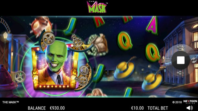 Euro Slots featuring the Video Slots The Mask with a maximum payout of $25,000