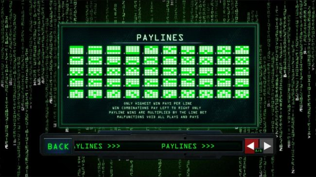 Tropez featuring the Video Slots The Matrix with a maximum payout of $225,000