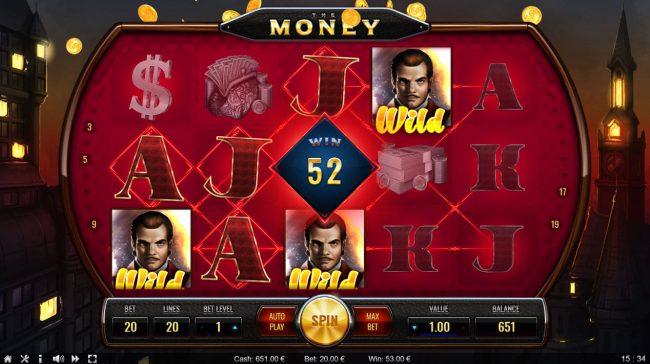 The Money :: Multiple winning paylines