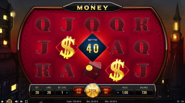 The Money :: Scatter Win