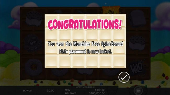 Guts featuring the Video Slots The Munchies with a maximum payout of $50,000