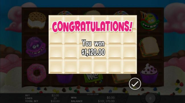 Instacasino featuring the Video Slots The Munchies with a maximum payout of $50,000