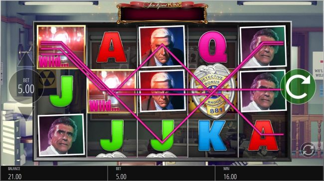 CKcasino featuring the Video Slots The Naked Gun with a maximum payout of $250,000