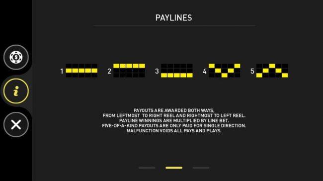 The Nutcracker :: Paylines 1-5