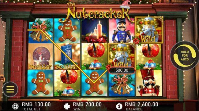 The Nutcracker :: Multiple winning paylines triggers a big win!