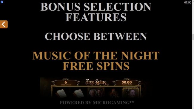 Spin Station featuring the Video Slots The Phantom of the Opera with a maximum payout of $116,000