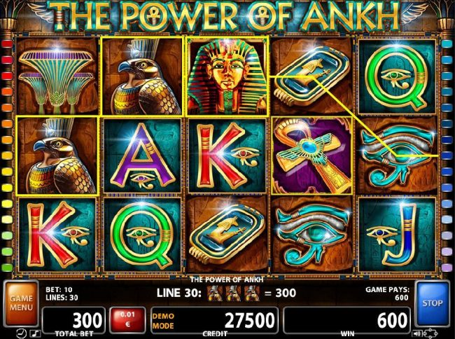 Spiele The Power Of Ankh - Video Slots Online