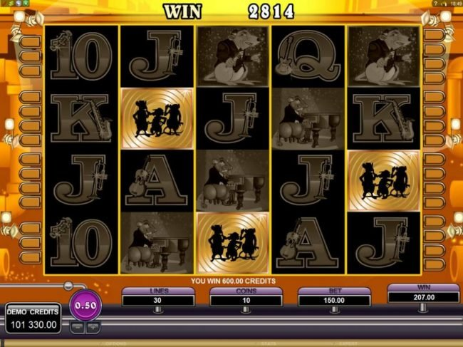 7Bit featuring the Video Slots The Rat Pack with a maximum payout of $150,000