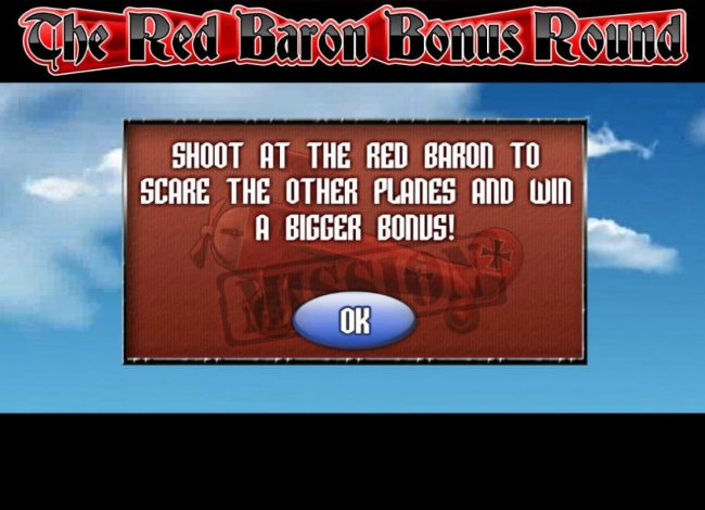 Play slots at Tangiers: Tangiers featuring the Video Slots The Red Baron with a maximum payout of $50,000