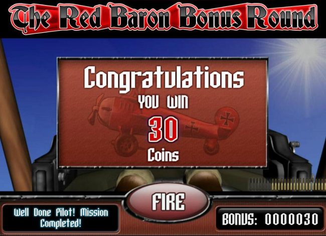 Play slots at Oshi: Oshi featuring the Video Slots The Red Baron with a maximum payout of $50,000