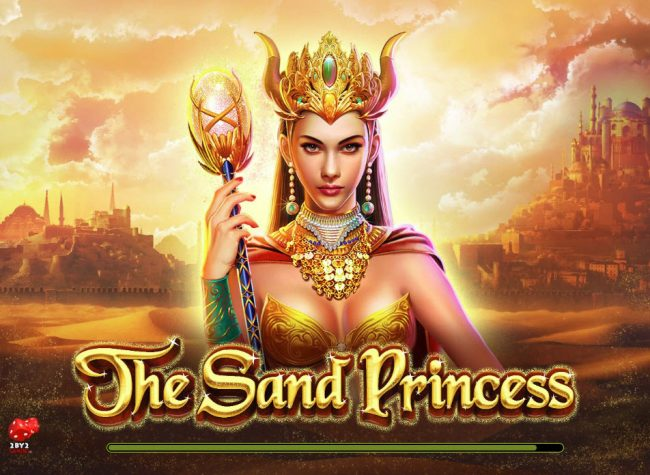 Amsterdam Casino featuring the Video Slots The Sand Princess with a maximum payout of $60,000