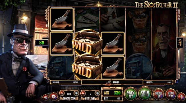 Superbet Palace featuring the Video Slots The Slotfather II with a maximum payout of $1,210,500