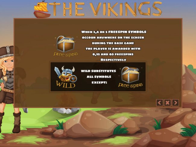 Venetian featuring the Video Slots The Vikings with a maximum payout of $24,000