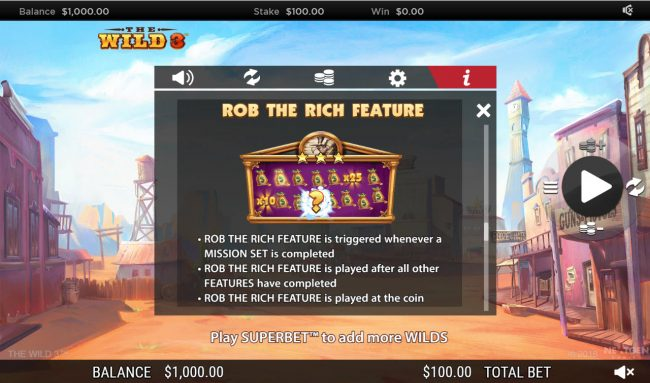 Rob the Rich Feature