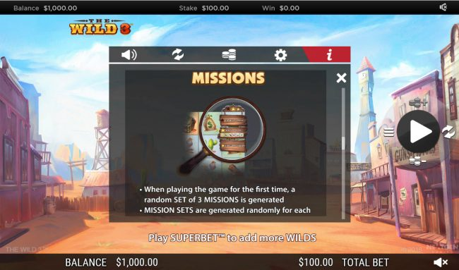 The Wild 3 :: Missions
