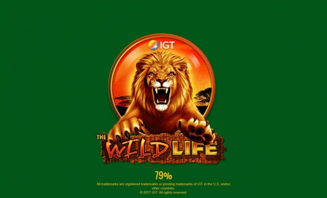 Sky Vegas featuring the Video Slots The Wild Life with a maximum payout of $25,000,000