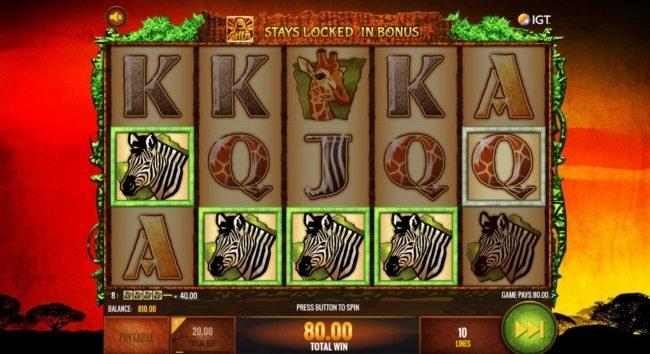 Play slots at BGO Vegas: BGO Vegas featuring the Video Slots The Wild Life with a maximum payout of $25,000,000