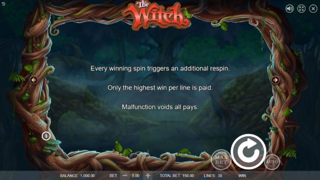 Play slots at LaFiesta: LaFiesta featuring the Video Slots The Witch with a maximum payout of $45,000