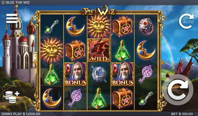 The Wiz :: Main Game Board