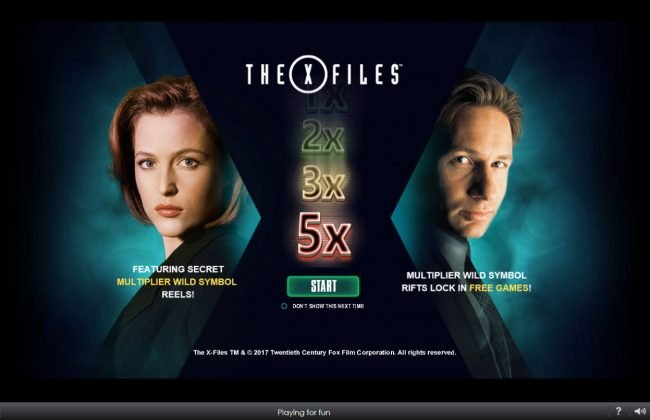 Magic Box featuring the Video Slots The X Files with a maximum payout of $5,000