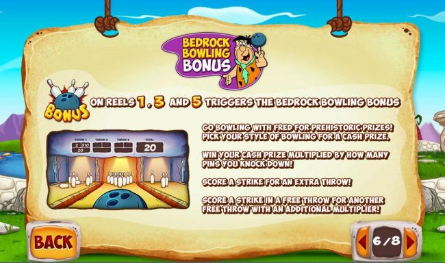 Slots Heaven featuring the Video Slots The  Flintstones with a maximum payout of $40,000