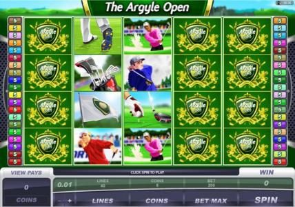 Play slots at Spin Palace: Spin Palace featuring the Video Slots The Argyle Open with a maximum payout of $500