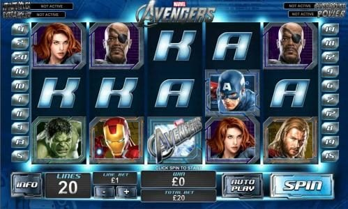 Play slots at Sky Kings: Sky Kings featuring the Video Slots The Avengers with a maximum payout of Jackpot