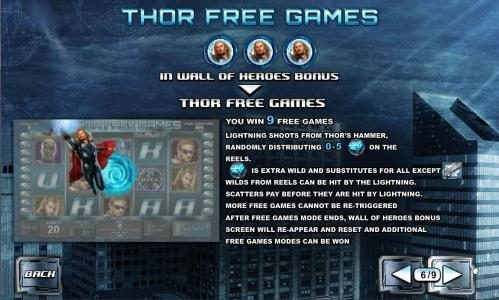 thor free games feature rules