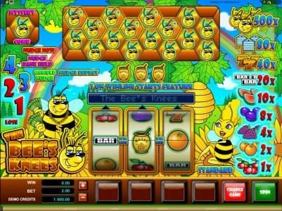 Play slots at Bet Phoenix: Bet Phoenix featuring the Video Slots The Bees Knees with a maximum payout of $10,000