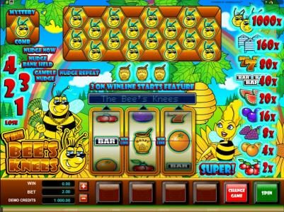 Play slots at PropaWin: PropaWin featuring the Video Slots The Bees Knees with a maximum payout of $10,000