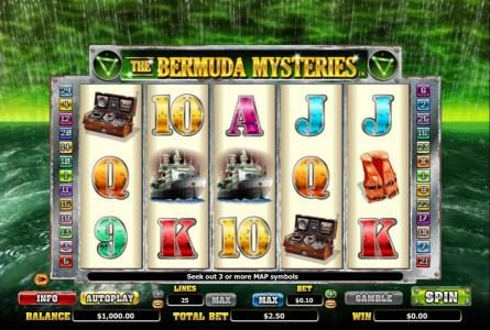 Play slots at Casino Club: Casino Club featuring the Video Slots The Bermuda Mysteries with a maximum payout of $20,000