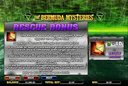 Lightbet featuring the Video Slots The Bermuda Mysteries with a maximum payout of $20,000