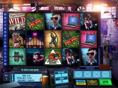 Slots Angel featuring the Video Slots The Casino Job with a maximum payout of $10,000