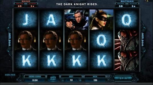 Play slots at Zodiac: Zodiac featuring the Video Slots The Dark Knight Rises with a maximum payout of $445,000