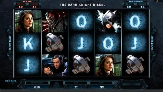 Svedala featuring the Video Slots The Dark Knight Rises with a maximum payout of $445,000