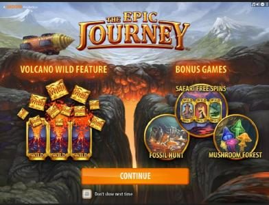 888 Casino featuring the Video Slots The Epic Journey with a maximum payout of $2,000