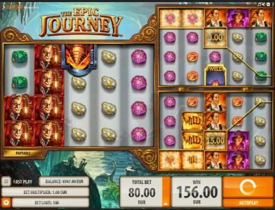 10Bet featuring the Video Slots The Epic Journey with a maximum payout of $2,000